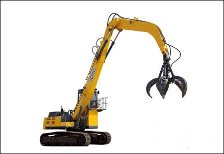 徐工大型液压挖掘机首次登陆北美再提品牌影响力