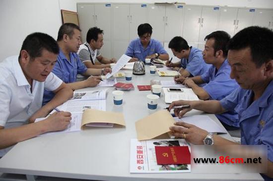 """陕建机械基层党支部召开""""两学一做""""学习教育活动"""