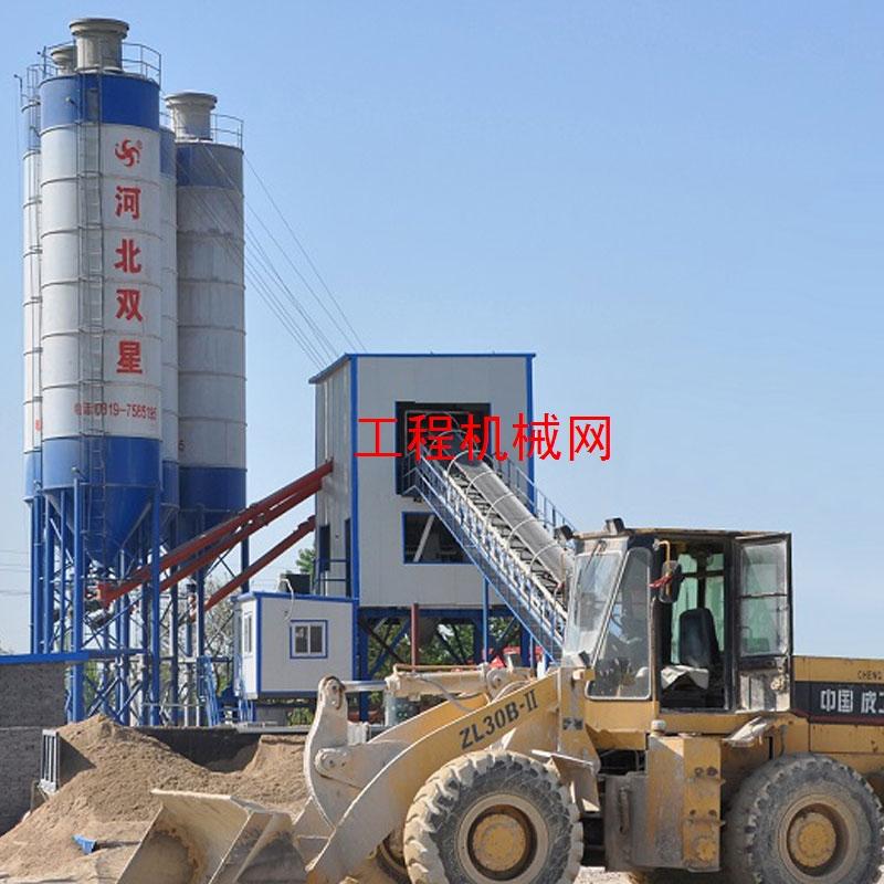 混凝土搅拌站,商用型混凝土搅拌站,每小时产90方混凝土