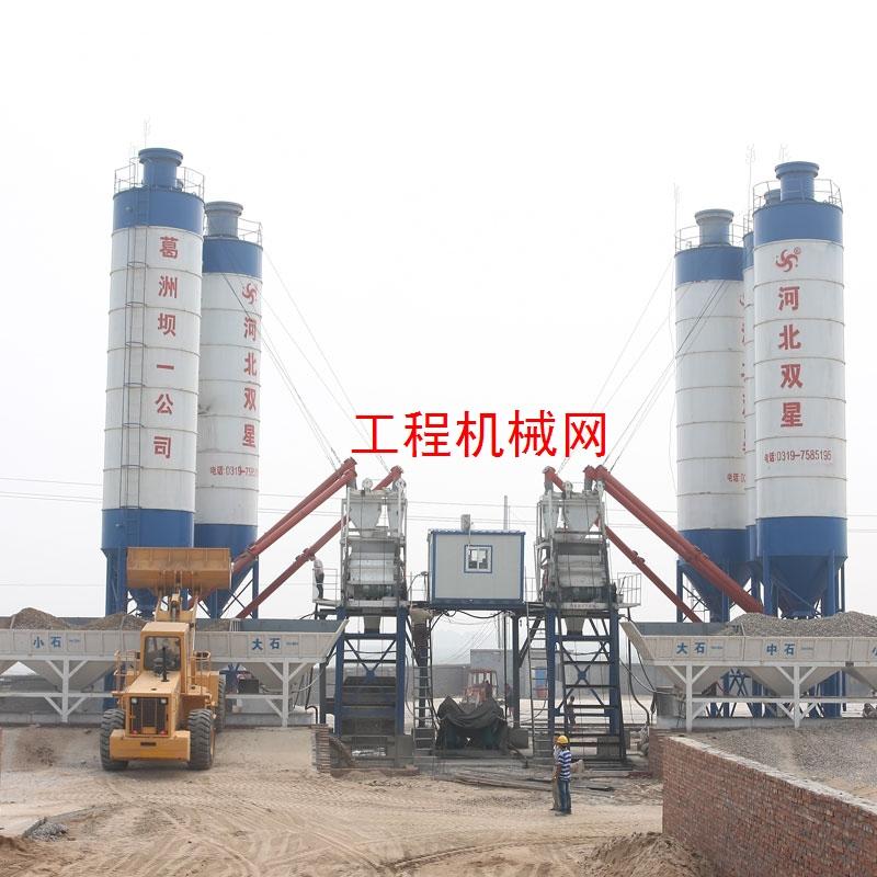 HZS75混凝土搅拌站设备