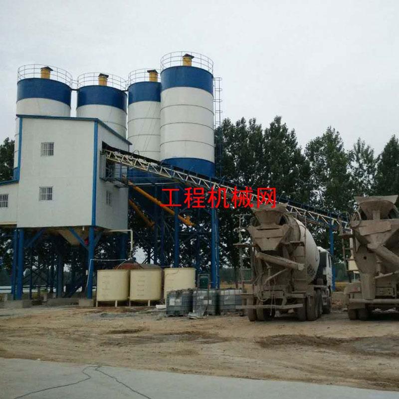 大型HZS180混凝土搅拌站